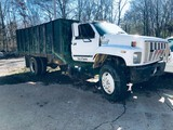 (INOP) (T) 1992 GMC 6500 WITH CONTRACTOR DUMP BED
