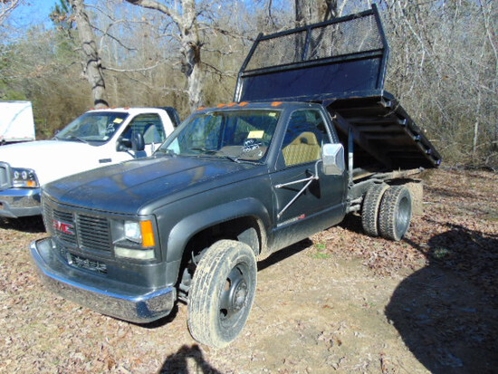 1993 GMC CAB CHASSIS 3500 HD