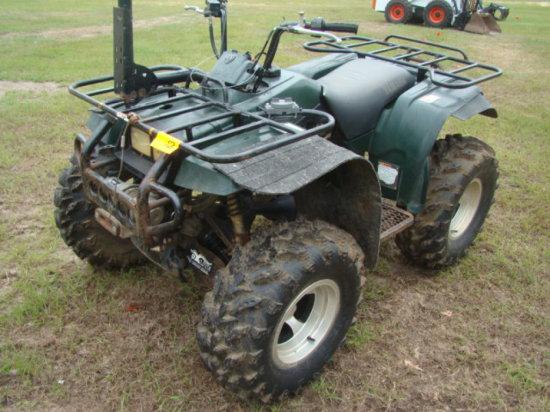 1999 YAMAHA BIG BEAR 4WD ATV VIN/JY44WUW07XA073044