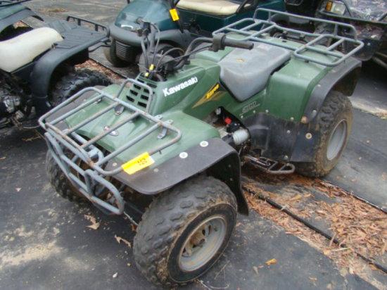 2003 KAWASAKI BAYOU ATV VIN/JKALF8B1X3B573720