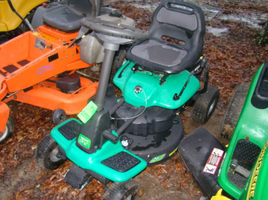"""WEEDEATER 875 SERIES RIDING LAWN MOWER 26"""" CUT; SN/041811L002125"""