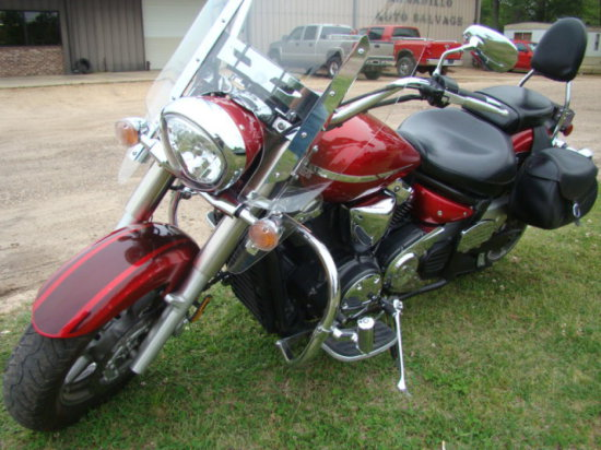 (BANK TITLE) 2008 YAMAHA V-STAR 1300 MOTORCYCLE