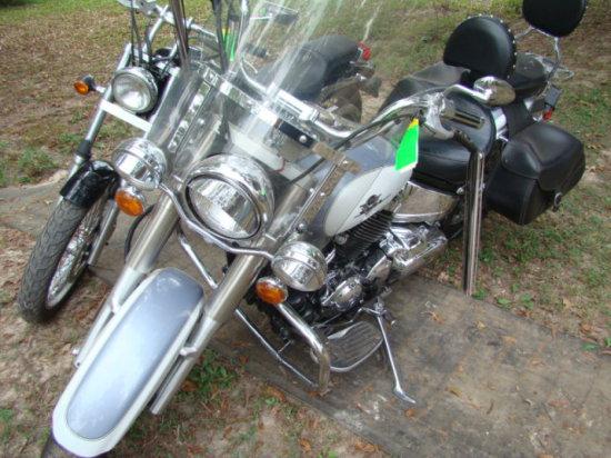 (T) 2002 YAMAHA SILVERADO 650 RS MOTORCYCLE