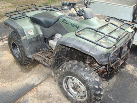2002 HONDA RANCHER ATV
