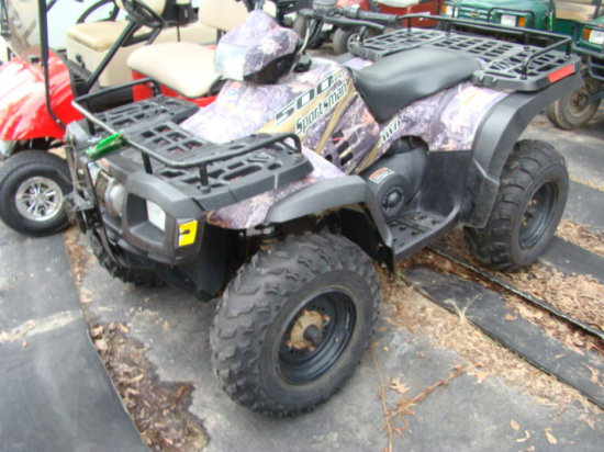 (T) 2004 POLARIS 500HD SPORTSMAN ATV