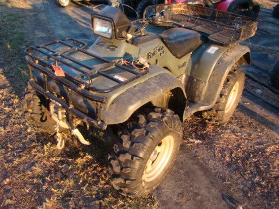 2000 HONDA FOREMAN ES ATV