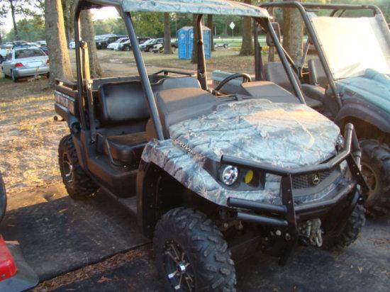 (T) 2012 JOHN DEERE XUV550 SIDE BY SIDE ATV