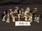 Star Wars Metal Figurines,