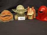Star Wars Collectible Head Playset,
