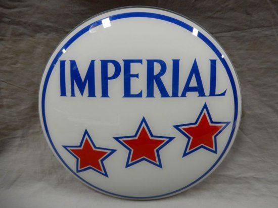 "IMPERIAL 3 STAR 15"" GAS GLOBE LENSE"