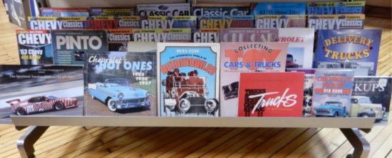 ASSORTMENT OF VEHICLE RELATED SOFT COVER BOOKS