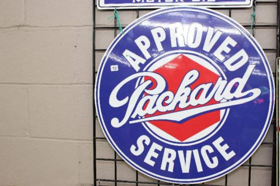 """NEW PACKARD APPROVED SERVICE SIGN 24"""""""