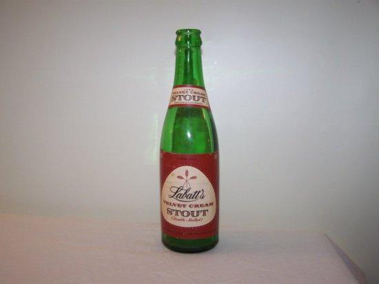 LABATT'S VELVET CREAM STOUT 12 OZ. BOTTLE-LONDON-TORONTO-MONTREAL P.Q. & WI