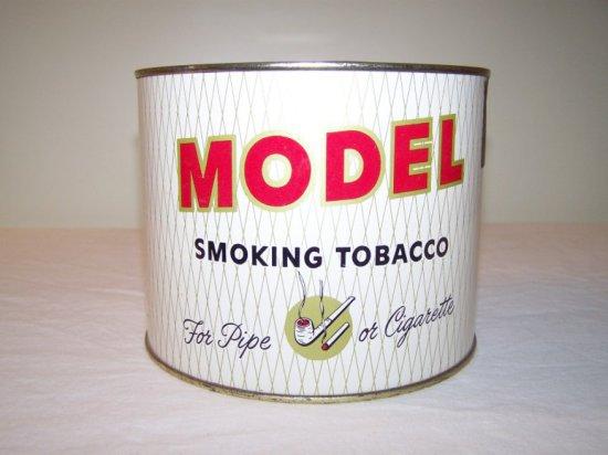 MODEL SMOKING TOBACCO TIN -U.S. TOBACCO CO. RICHMOND VIRGINIA U.S.
