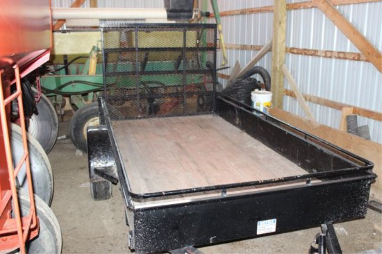 2006 CANADA TRAILERS LANDSCAPE TRAILER 5.5'X10' WITH RAMP