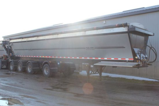 2012 TRAIL KING RED RIVER LIVE BOTTOM 48' TRAILER SERIES #0LB443, 4 AXLE, L
