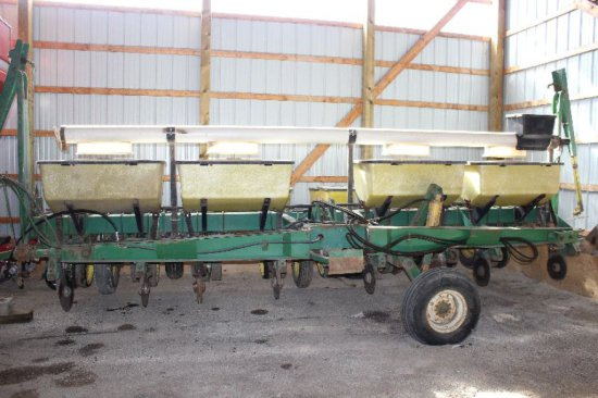JOHN DEERE 7000 8RN CORN PLANTER END TRANSPORT, DRY FERTILIZER, CROSS AUGER