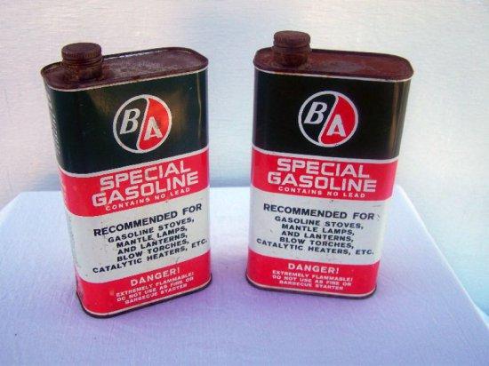 2 B/A SPECIAL GASOLINE 49 OZ. CANS