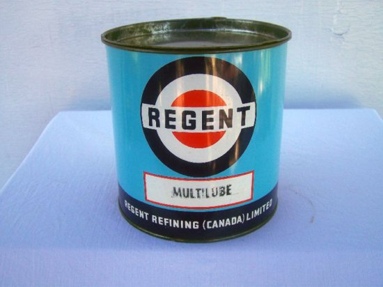 REGENT 5 LB. MULTILUBE CAN -FULL THIS ITEMS CONTAINS OIL & CANNOT BE SHIPPE