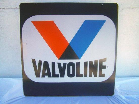 "VALVOLINE D/S METAL SIGN 30""X 30"""