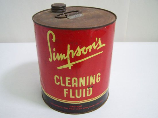 SIMPSONS CLEANING FLUID GAL. CAN