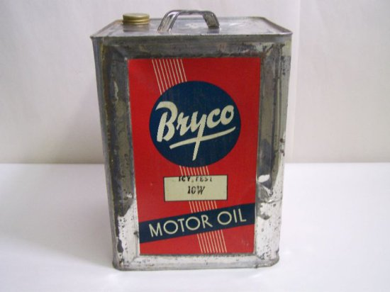 BRYCO 5 IMP. GAL MOTOR OIL CAN