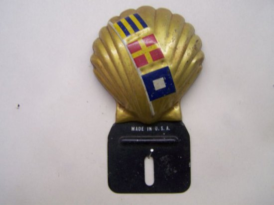 SHELL CLAMSHELL LICENSE TOPR -U.S.A.