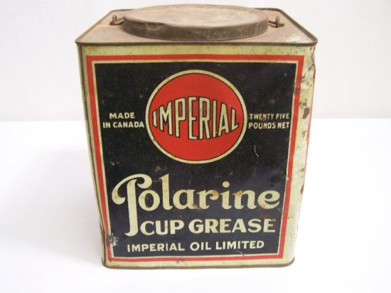 IMPERIAL RED BALL POLARINE CUP GREASE 25 LB. CAN