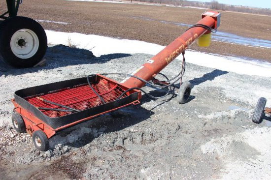 "WESTFIELD 10"" HYDRUALIC DRIVE AUGER"