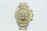 WATCH:  [1] Stainless steel & 18KYG Rolex Daytona Oyster Perpetual Cosmograph watch with goldtone di