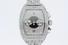 watch:  [1] Stainless steel Franck Muller King Conquistador watch with chronometer, chronograph, dat