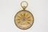 POCKET WATCH:  [1] 18Kt. tri-gold pocket watch, sz 16S, a type three English Massey lever, key wind