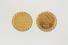 CUFFLINKS:  [1 pair] 14KYG cufflinks, each set with a 1901 $5 gold coin; 32.0 grams