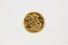RING:  [1] 18 KYG ring set with a British 1906 Half Sovereign gold coin;  size 10;  51.9 grams