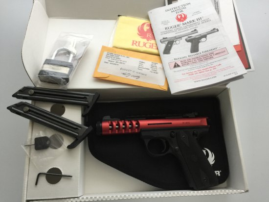Ruger P45 MKIII Lightweight Target Pistol in like new condition