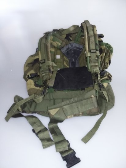 Camoflage Military Backpack