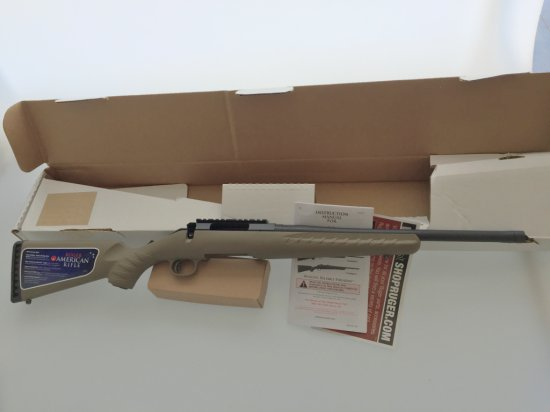 Ruger American Bolt Action Rifle 300AAC Blackout