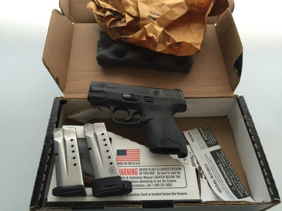 Smith and Wesson M&P Shield 9mm NTS Semi-Auto Compact Pistol