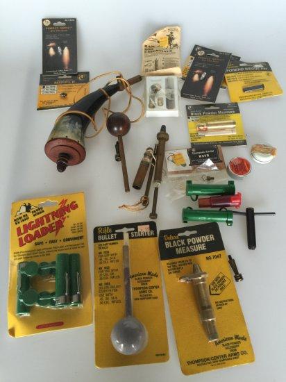 Muzzle Loading Equipment CVA Black Powder Measure Ram Rod &