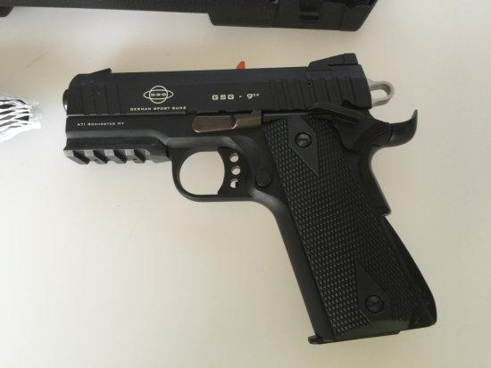 "GSG 922SF 22LR 5"" Pistol with Faux Suppressor New in Box"