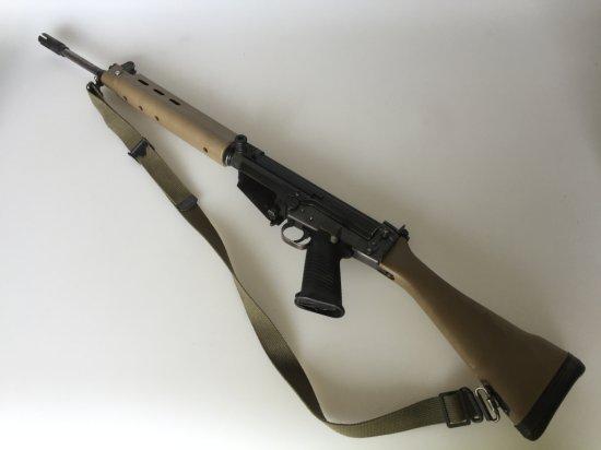 FN-FAL SA58 DSA 308 Cal Battle Rifle