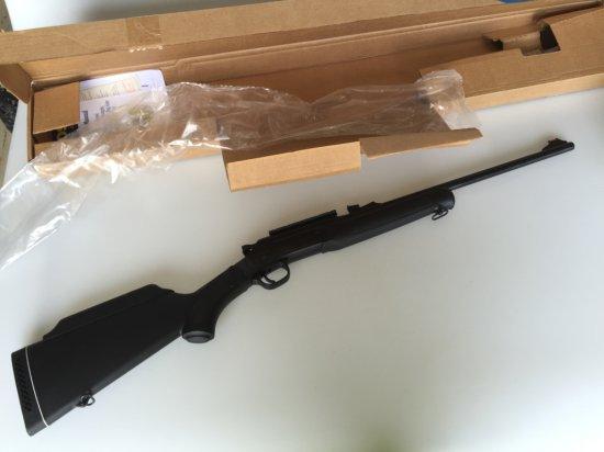BrazTech Rossi Single Shot 243 WIN Rifle w/scope rail New in Box