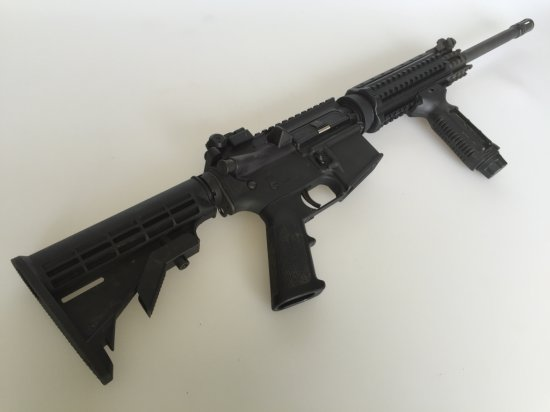 DPMS AR-15 Rifle 223-5.56 W/ Collapsible Stock