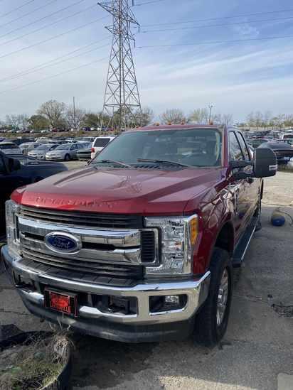 2017 F250 Pickup Truck with Bill of Sale 6.2L Gas
