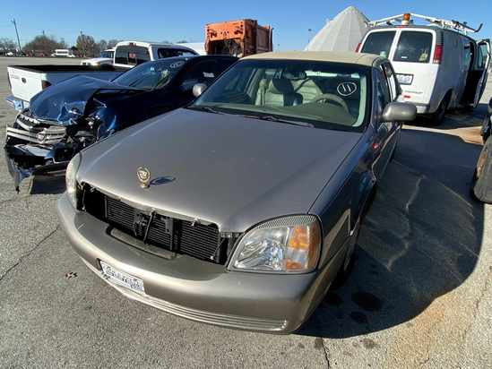2003 Cadillac Deville with Bill of Sale Tow# 94552 Item 11