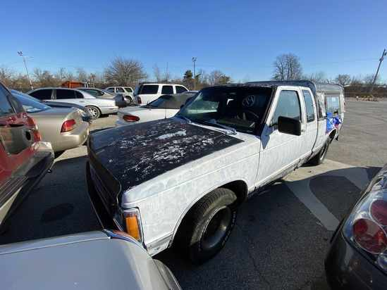 1992 Chevy S10 with Bill of Sale Tow# 95461 Item 14