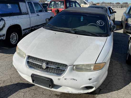 1996 Chrysler Sebring with Bill of Sale Tow# 94450 Item 15