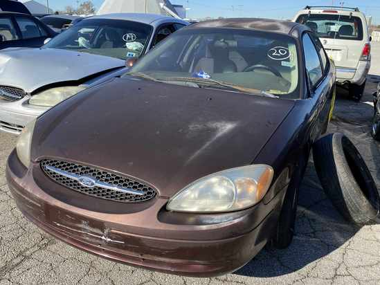 2000 Ford Taurus with Bill of Sale Tow# 94884 Item 20