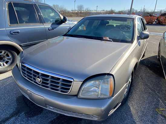 2004 Cadillac Deville with Bill of Sale Tow# 94480 Item 2