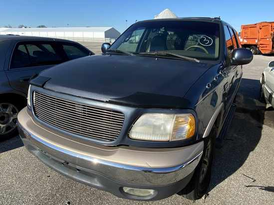 1999 Ford Expedition with Bill of Sale Tow# 94987 Item 3